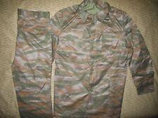 Very Rare Yugoslavian Era Grey Tiger Pattern Camo Uniform Set w/ Riot Vest 1985
