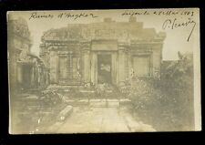 Asia Cambodia ANGKOR Ruins 1903 refer#4 u/b RP PPC mailed Saigon 1903