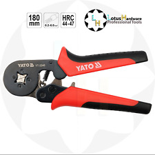 Ferrule Crimping Pliers AWG 23-10 HRC44-47 Yato YT-2240