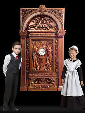 RMS Titanic LARGEST Grand Staircase Clock with Architectural Surround