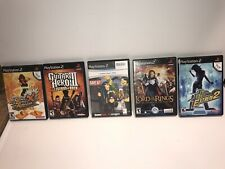 SONY PLAYSTATION 2 PS2 5 GAMES BUNDLE DEAL
