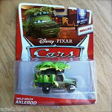 Disney PIXAR Cars WILD MILES AXLEROD on 2014 MEL DORADO SHOW diecast 6/9 DELUXE