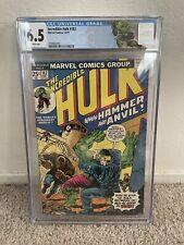 Incredible Hulk 182 CGC 6.5 Wolverine Third Appearance 1st Hammer & Anvil Marvel