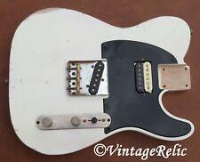 aged RELIC nitro TELE Telecaster loaded body Fender Custom Shop Bridge Duncan