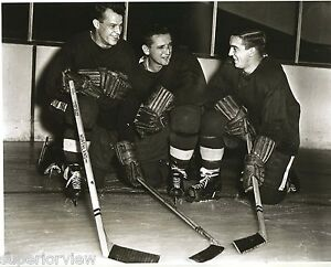 Gordie Howe Production Line Great Photo Detroit Red Wings Ted Lindsey Sid Able