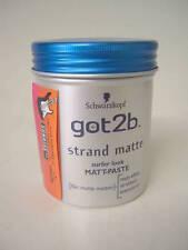 Pasta modellante professionale Schwarzkopf got2b Strand Matte Strandmatte 100ml