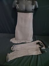 Whiting Davis Mailite Mesh Apron with sleeves