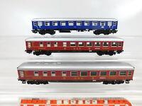 CF828-1# 3x Märklin H0/AC Speisewagen/Personenwagen: WR4ümg DSG + A4ümg DB