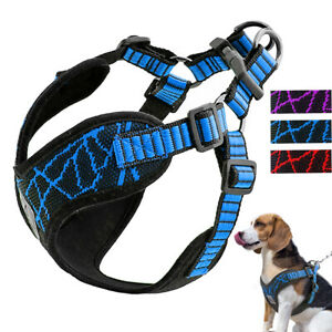 Step In Dog Harness Vest No Pull Reflective Comfort Neoprene Padded Jack Russell