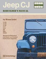JEEP CJ 2A 3A 3B 5 6 MB M38 M38A1 RESTORATION REBUILD MANUAL Owners Handbook