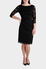 Trent Nathan Black Lace Dress Size 14