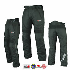 "Biker Ladies Girls Womens Motorcycle Trouser Thermal Motorbike Trousers Pant 30 Long 34"" 86cm L34"