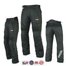 """Ladies Womens Girls Motorcycle Trouser Waterproof Motorbike Trousers Pants CE UK 14 Short 30"""" - 76cm"""