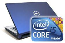 Dell Studio 1558 Laptop 15.6 HD 500GB 4GB i5 Windows 10 DVD Wifi Blue Cheap HDMI