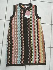 NWT WOMENS MISSONI TARGET Zig Zag Chevron Sleeveless Sweater Dress Medium C872