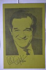 Al Capp Signed Brochure, 1969, San Jose City College, Li'l Abner