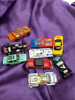 Vintage Diecast Toy Race Cars Lot Of 9 Unbranded Made In China Assorted Lot