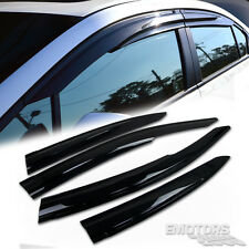 For HONDA CIVIC 9TH SIDE WINDOW RAIN VISOR MUGEN SEDAN 4DR 2012-2015 NEW