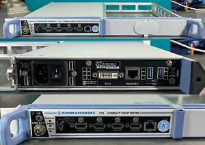 ROHDE SCHWARZ VTS compact video tester module for manufacturing applications
