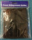 Advantus Travel ID / Document Holder Lanyard Black Nylon AVT-76345