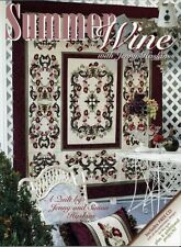 Summer Wine By Jenny Haskins - Book and Cd with Embroidery Designs