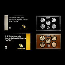 2012 S America the Beautiful National Parks Mint Silver and Clad Proof Sets