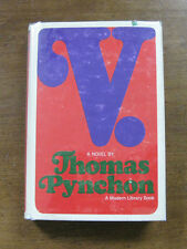 V. a novel by Thomas Pynchon - 1966 -  modern library 1st stated $2.45 - VG+