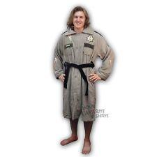 Walking Dead Sheriff Rick Uniform Costume Toweling Bathrobe AMC Licensed Robe