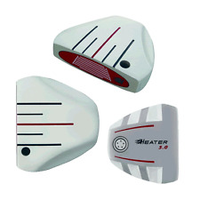 HEATER WHITE GHOST MANTA RAY TAYLOR FIT MADE SMOKE LONG BELLY GOLF PUTTER 40-49""