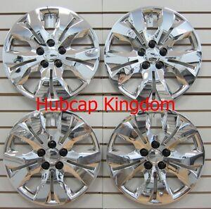 "NEW 2011 - 2014 Chevrolet CRUZE 16"" Hubcaps Wheelcover CHROME Bolt-On SET"