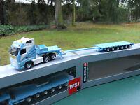 """WSI MODELS 1/87 VOLVO GLOBE XL 8X4 + SEMI-SURBAISSEE   """" CEPELLUDU """"  MINT BOX"""