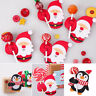 Wholesale 50PCS Christmas Lollipop Stick Paper Card Candy Chocolate Xmas Decor