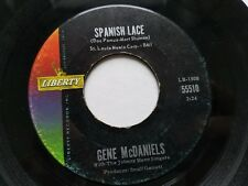 GENE McDANIELS - Spanish Lace / Somebody's Waiting 1962 LIBERTY Pop 7""