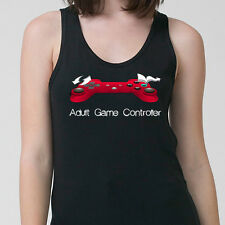 Adult Game Controller Funny Nerdy T-shirt Gamer Nipple Player Adult Tank Top