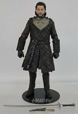 "McFarlane Game Of Thrones Jon Snow Stark 6"" Figure Complete Dragonglass Longclaw"