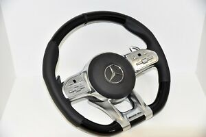 Original Mercedes-benz AMG Steering Wheel Wood Piano Patent S63 G63 C63 E63 GT63