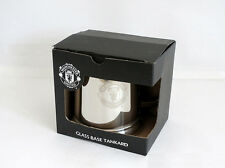 Man United Glass Bottom Tankard - Stainless Steel - Ideal Gift
