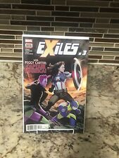 Exiles #3 2018  1st Print Peggy Carter Sheild Captain America NM High Grade