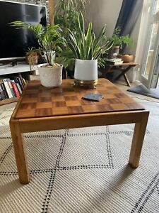 Chess / Coffee Table Mid Century Modern Style 1970's ?