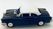 Vintage Wind-Up Tin G-Man FBI Police Car w/ Machine Gun Crank Car Mystery Action