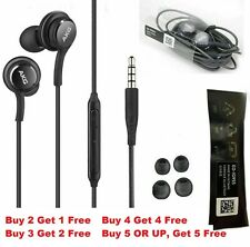 Original Samsung Galaxy S6 S7 S8 S9 Note9 8 Headphones Headset Earphones Earbuds