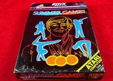 Atar XL: SUMMER GAMES-Epyx 1985 * New Shrink *
