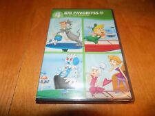THE JETSONS COLLECTION 4 KID FAVORITES 1960's Era Cartoon TV Series DVD SET NEW