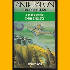 Collection Anticipation N° 1075 LE RÉVEIL DES DIEUX Philippe Randa 1981