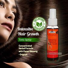 FAST long Hair Growth Tonic Natural Ginseng Hair Loss Treatment Promote Regrowth