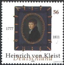 BRD (BR.Duitsland) 2283 postfris 2002 Heinrich van Kleist