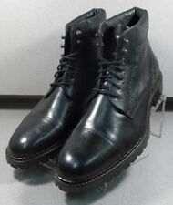 209837 PFBT40 Men's Shoes Size 11 M Black Leather Boots Johnston & Murphy