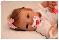 Custom Order for Reborn Baby Sabrina Newborn Girl or Boy Doll