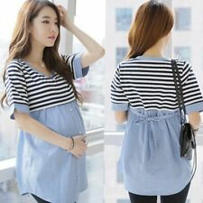Top Shirts Women's Maternity Blouse Casual Wears Breastfeeding T-shirts Clothing