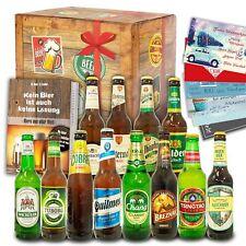 Geschenk Idee Biere für Männer - 12er Bierbox mit Bieren aus aller Welt